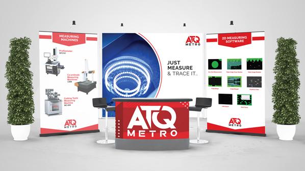 ATQ Metro's exhibition booth design