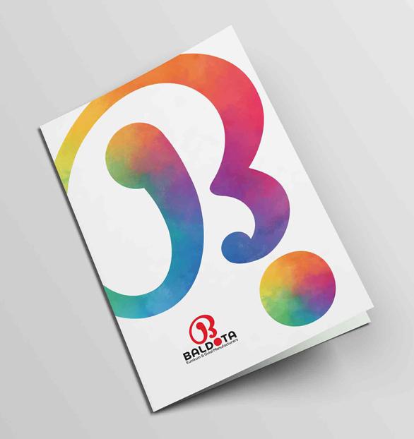Baldota Kumkum Brochure designed by WDsoft