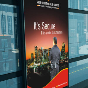 Shree Security Services Building Billboard Mockup