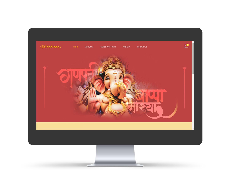 Ganeshaas Responsive Website Design Pune