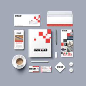 Stationary Design and Corporate Identity Designed for SSCO Pune