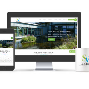 SV Group Responsive Website Design Pune