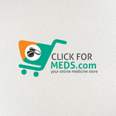 Click for meds.com your online medicine store Logo