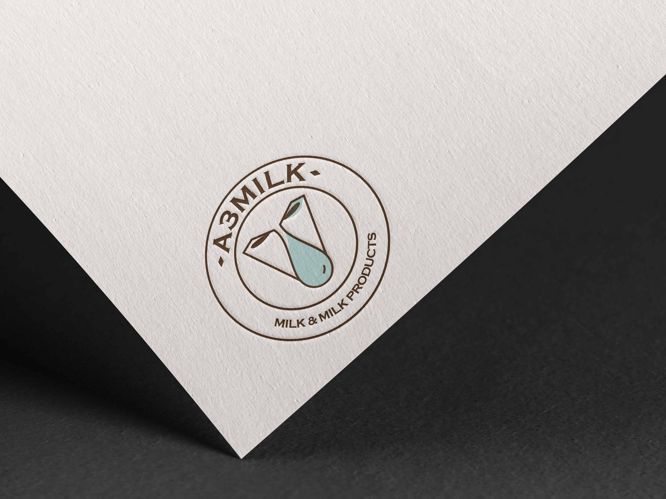 A3 Milk Logo Design by WDSOFT
