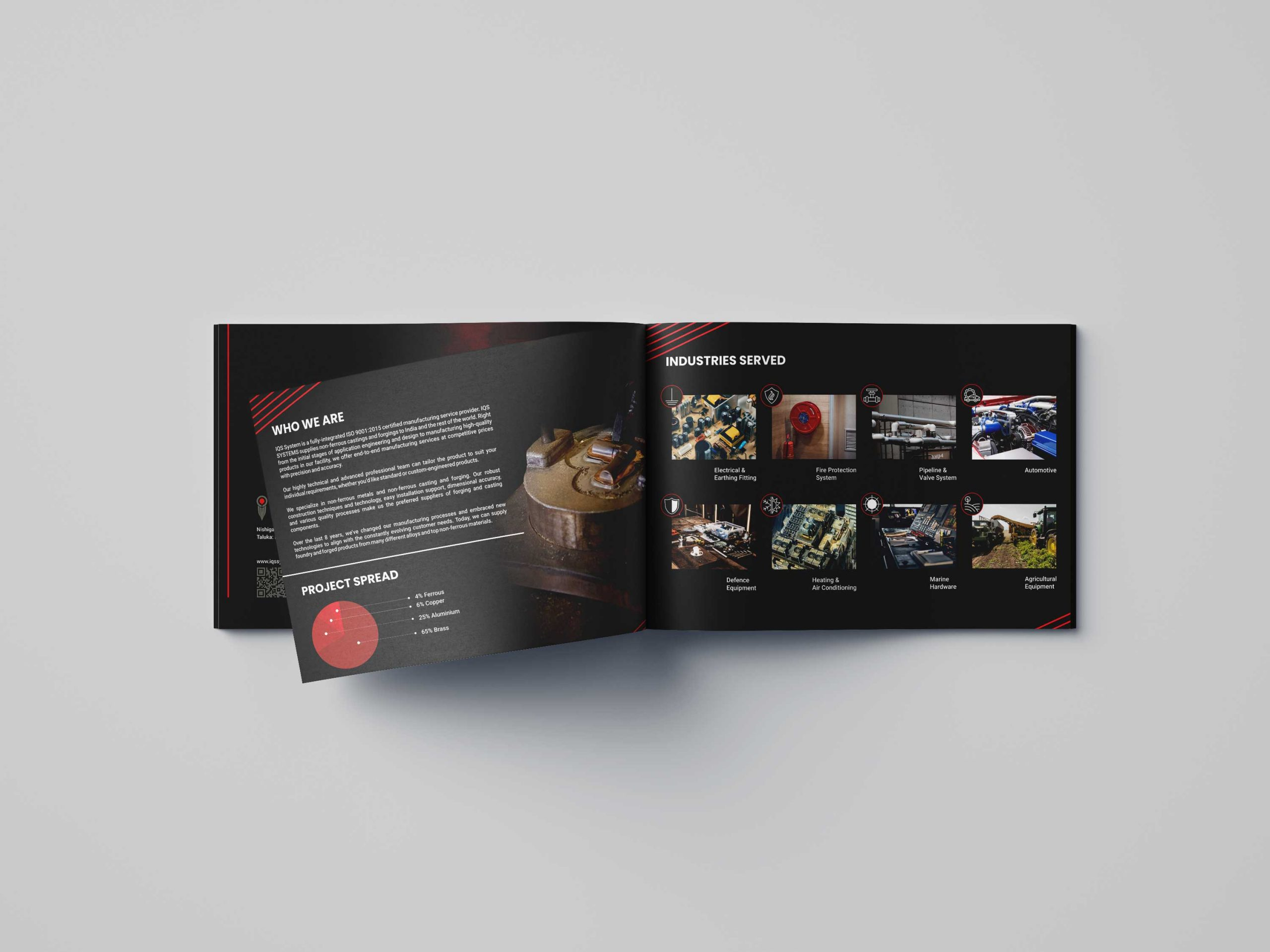IQS systems Brochure Design By WDSOFT