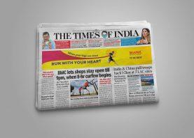 Solapur Marathon Ad Design