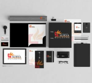 Surya Builders Corporate Identity Design by WDSOFT