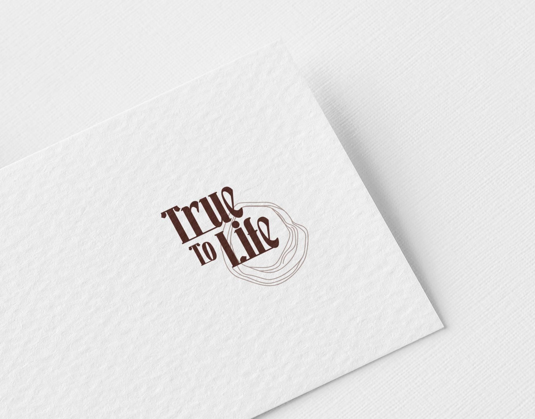 True To Life Logo Design by WDSOFT