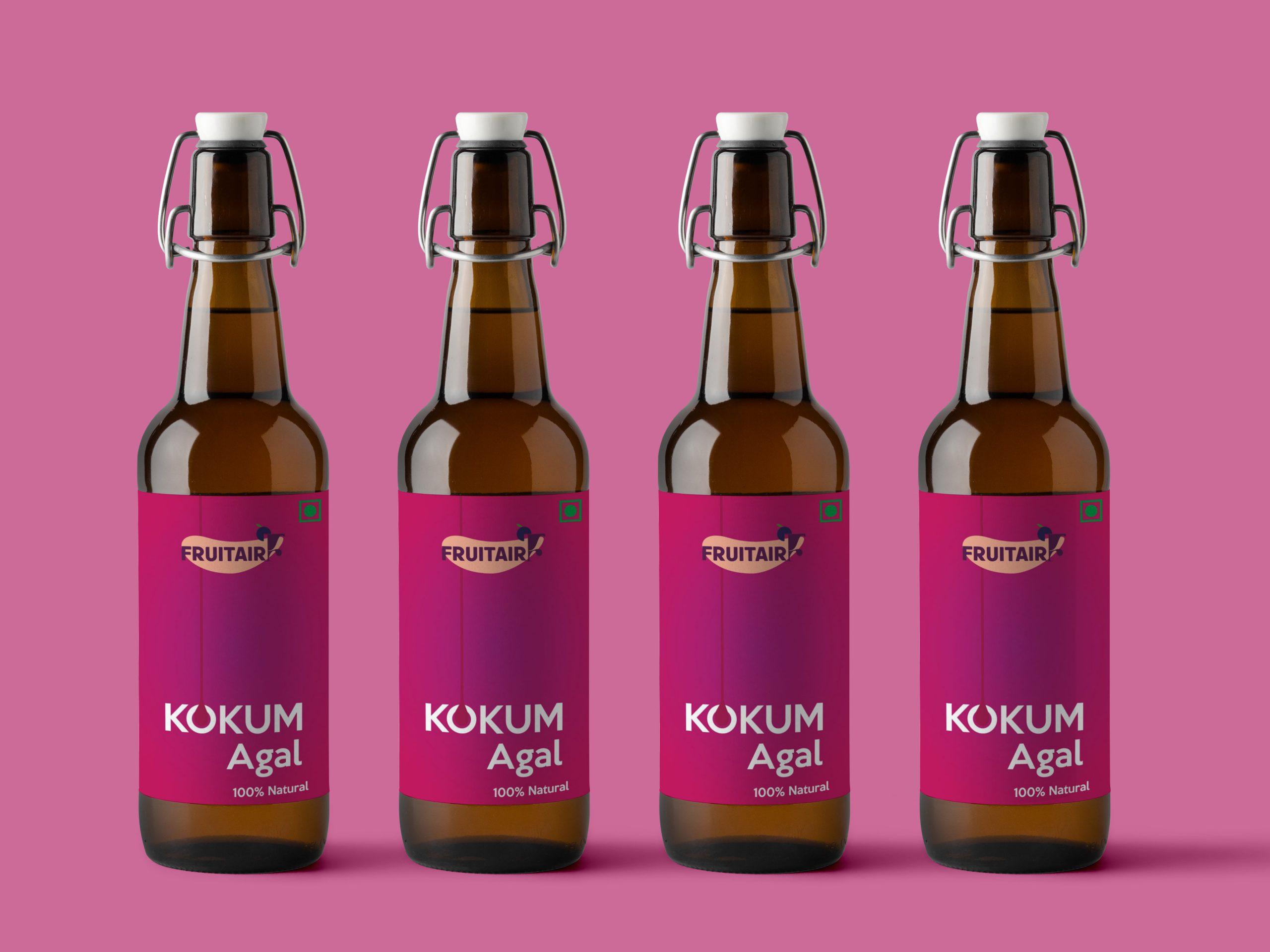 Fruitair Kokum Agal Packaging Design by WDSOFT