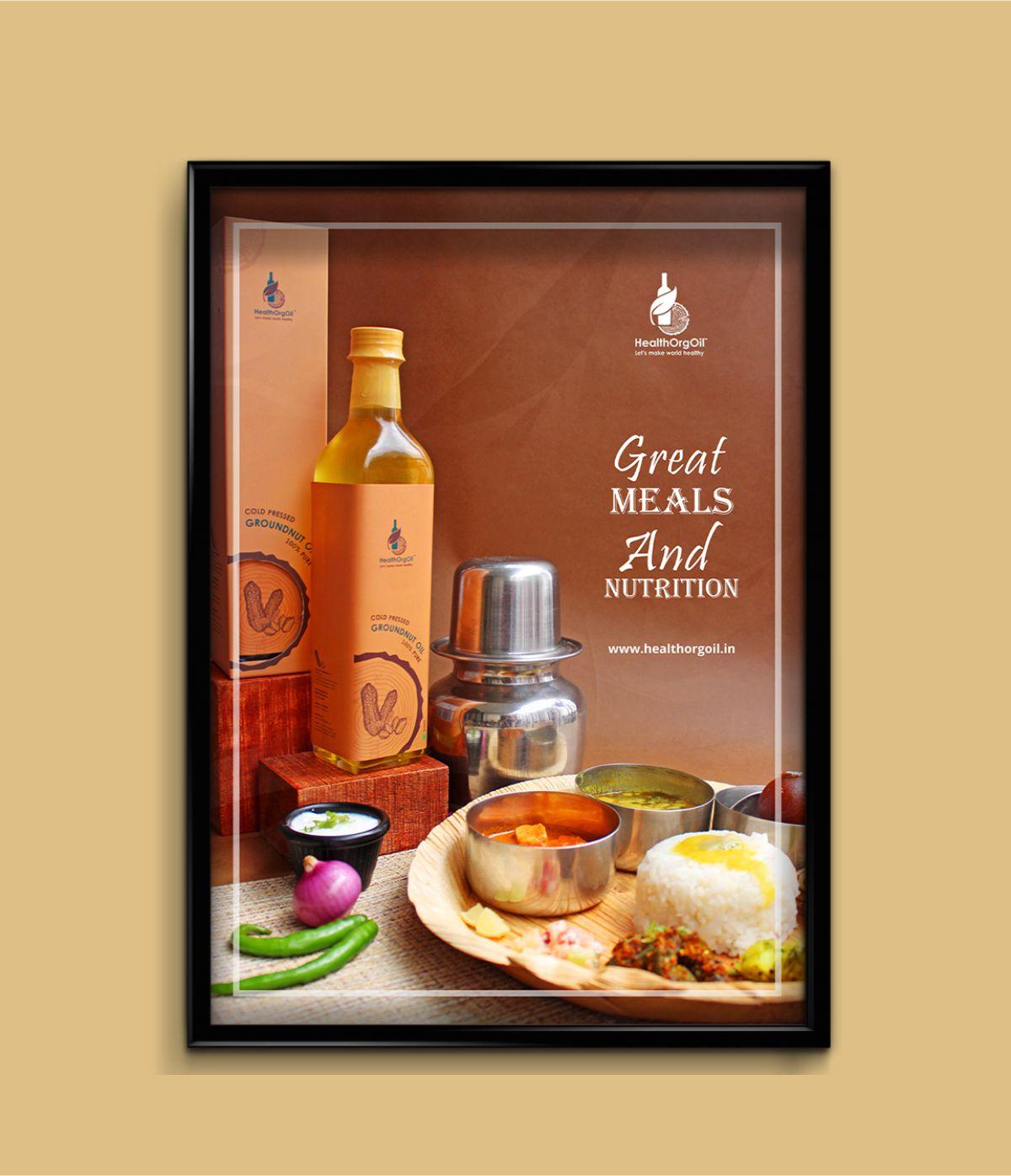 Healthorgoil Poster Design
